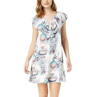 Maison Jules | Printed Flounce Dress