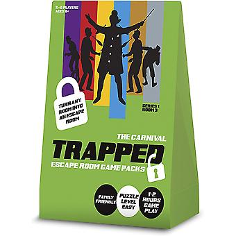 Trapped: Escape Room Game Pack - The Carnival