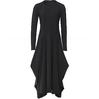 Hoge Exclaim lange mouw jurk