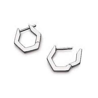 Kit Heath Empire Manhattan Bar Boucles d'oreilles Cerceau hexagonale 60383RP029