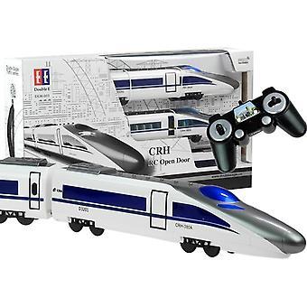 RC vlak dálkově ovládaný - s vysílačem 2,4 GHz - bílá s šedou