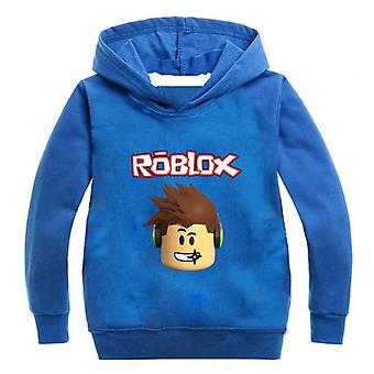 Hooded Sweatshirt Cotton Casual Sport Cloth For Boys