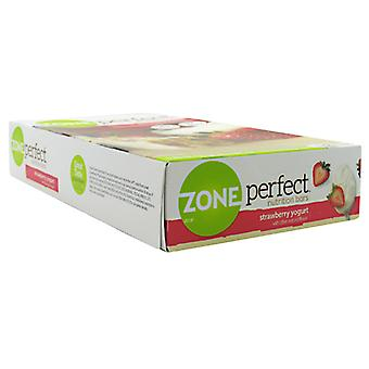EAS Zone Perfect Nutrition Bar, Strawberry Yogurt 1.58 oz/12 Bars