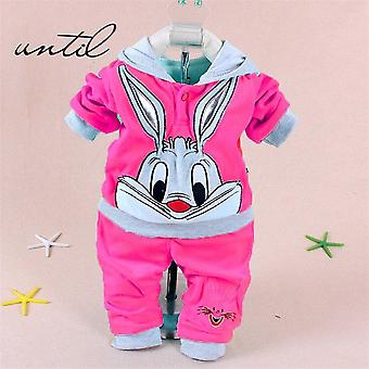 Nouveau-né Baby Boys/girls Autumn Winter Clothes Hoodie+pant Outfit, Costume enfants