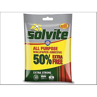 Solvite all purpose liima vähittäiskauppa 50% extra ilmainen
