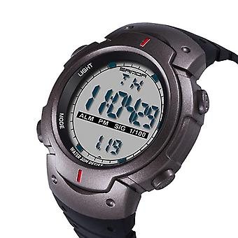 SANDA 269 Digital Watch Lysende Motion Timing Stopwatch Kalender Alarm Watch
