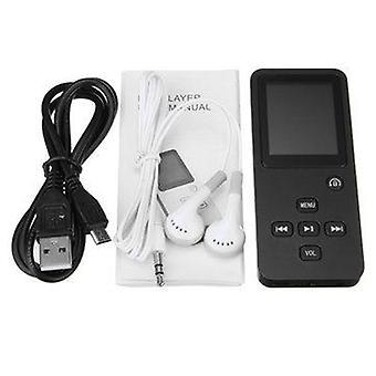 1,8 palcový 8GB bluetooth Bez stratový MP3 s slúchadlá FM rádiový rekordér WAV MP3