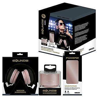 Soundz Audio Bundle Set - Rose Gold
