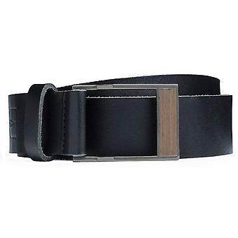 BeWooden Apis Belt - Black/Brown