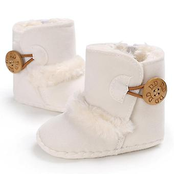 Baby Snow Boots Winter Half Boots Baby Kids Nieuwe Soft Bottom Schoenen