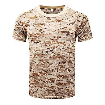 Camouflage Quick Dry Breathable T-shirt, Tights Army Tactical, Mens