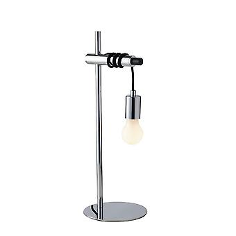 Fan Europe Admiral - Cable Table Lamp, Chrome, Zwart, E27