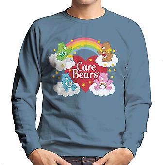 Care Bears På Skyer Menn's Sweatshirt