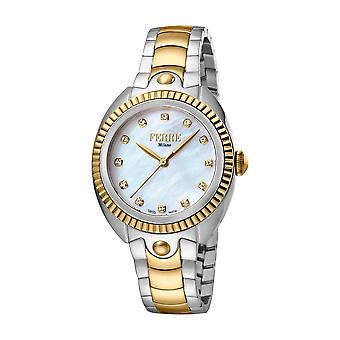 Ferre Milano Ladies White MOP Dial  / GP Watch