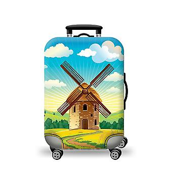 Elastic Luggage Cover Windmill