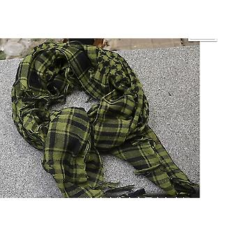 Outdoor Square Scarf Arab Scarves Men Winter Military Windproof Cotton Muslim