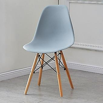 Dining / Home Solid Wood Lazy Computer Chair Back Makeup Stool, Fabric