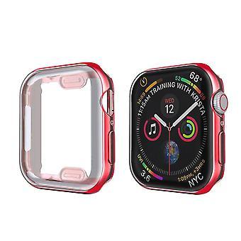 Genomskinligt överdrag för Apple Watch Series 3 2 1 38mm 42mm 360 Full Soft Clear