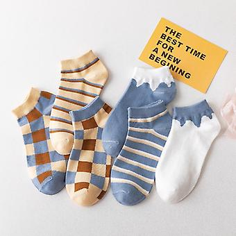 Stripe Cotton Breathable Socks