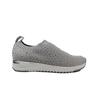 Caprice 24700-035 Pebble Knitted Fabric Womens Pull On Trainers