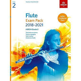 Pacote de Exame de Flauta 2018-2021, Abrsm Grade 2 Paperback