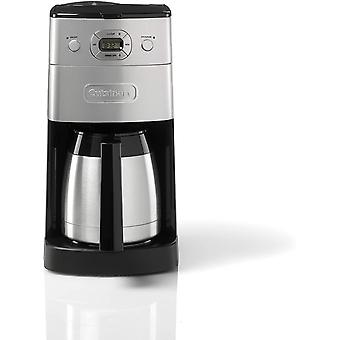 Cuisinart Grind and Brew Automatic, Bean to Cup Filter Coffee Maker,1000W,Silver