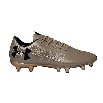 Under Armour UA Magnetico Pro Gold Leather FG Mens Football Boots 3000111 900