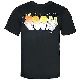 Nike Air Zoom Mens T-Shirt Crew Neck Short Sleeve Top Tee Black 258075 010