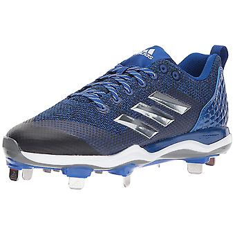 Adidas Mens icône md tissu Low haut Lace Up chaussures de Baseball