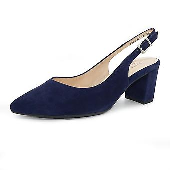 Peter Kaiser Nexy Sling Back In Notte Suede