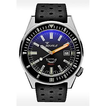 Squale MATICXSA.NT 600 Meter Swiss Automatic Dive Wristwatch Rubber