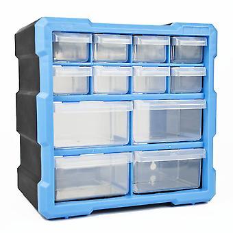 DIY Storage Organiser Unit with 12 Drawers