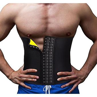 Men Waist Trainer Cincher Corset, Body Modeling Belt, Tummy Slimming Strap