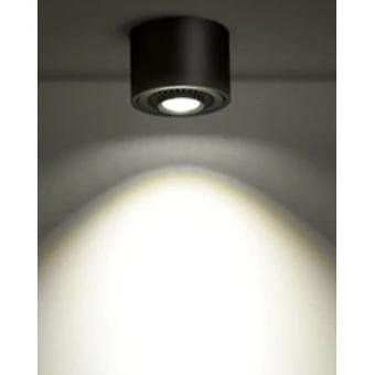 Szabályozható felületre szerelt cob háttérvilágítás, 360 fokos forgó led spot mennyezet