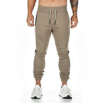 Muži Quick Dry Fit Běžecké Běžecké Kalhoty, Muži Kulturistika Tréninkové Sportovní Kalhoty