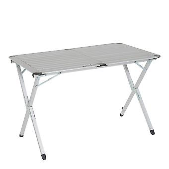 New Eurohike Roll Top Double Table Camping Furniture Silver