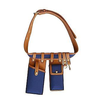 Leather Waist Belt Crossbody Chest Bags, Small Shoulder Strap Packs