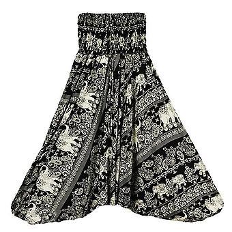 Vapaa-ajan joogahousut (1 kpl housut musta yksi koko)