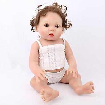 17 Inch Abcde Handmade Vinyl Silicone Realistic Girl Dolls