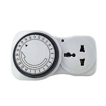 Cyclic Timer Switch Kitchen Outlet Loop Universal Timing Socket Mechanical