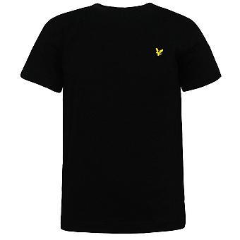 Camiseta Lyle & Scott de manga corta True Black Top Boys camiseta LSC0003S 951