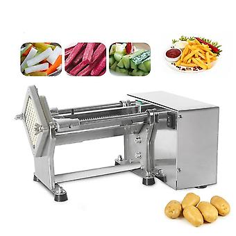 Electric French Fries Cutter Potato Chip Carrot Cutter Slicer Stainless Steel