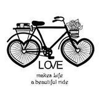 Luovat ilmaisut rakastavat kaunista ajoa 2 esileikattua postimerkkiä
