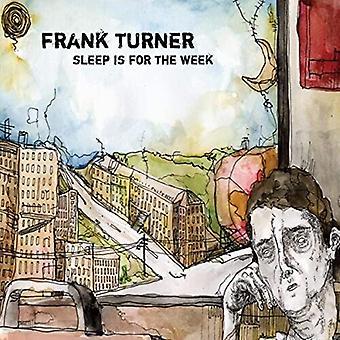 Turner,Frank - Sleep Is For The Week (Trans Brown) [Vinyl] USA import