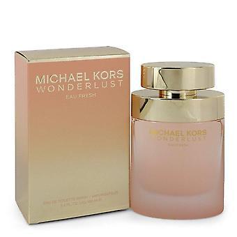 Michael Kors Wonderlust Eau Frische Eau De Toilette Spray von Michael Kors 3,4 oz Eau De Toilette Spray
