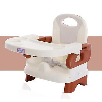 Kunststoff-Essstuhl für, mit Drei-Punkt-Sitzgurt Baby-Fütterungsstuhl