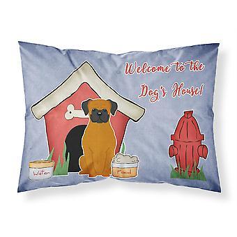Caroline's Treasures Dog House Collection Fawn Boxer Fabric Standard Pillowcase Bb2869Pillowcase, Multicolor