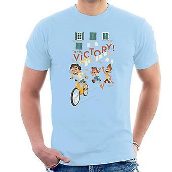 Pixar Luca voittoon Men's T-paita