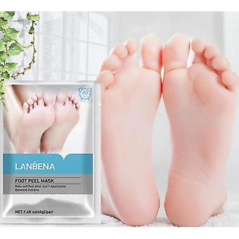 Foot Peel Mask Exfoliating Remove Dead Skin Calluses Crack Pair