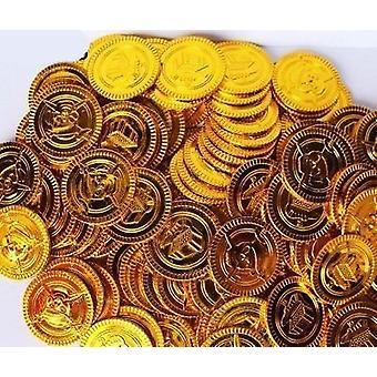 Plastik Altın Paralar Props